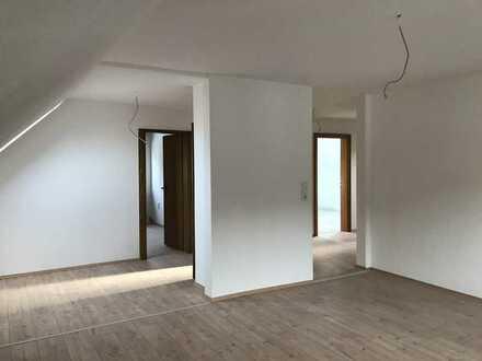 3-Zimmer-Dachgeschosswohnung mit großer Dachter. in Frammersbach