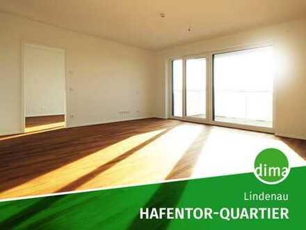 AKTION* | NEUBAU | HAFENTOR-QUARTIER + Loggia + Gäste-WC + Vollbad + TG + barrierefrei + Fbhz