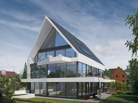 Architektonisches Highlight! Herrliches Penthouse mit Galerie und 2 Balkonen in Stuttgart-Killesbe