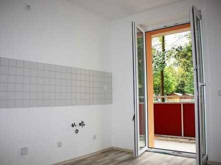 Schicke 1-Raum-Wohnung mit Balkon