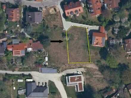 Wunderschönes Grundstück in Landshut, Südhanglage am alten Moniberg