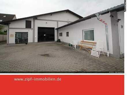 **Hallen-/Werkstattflächen in TOP-Lage von Gelnhausen-Meerholz**