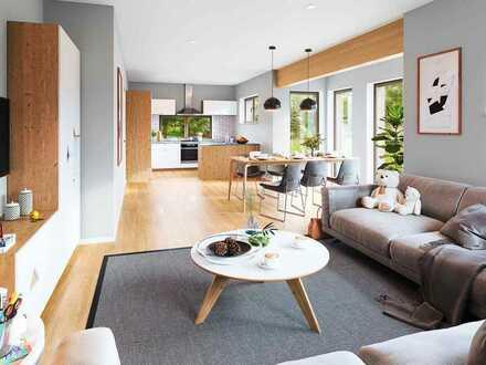 Attraktive 2-Zimmer-Erdgeschoss-Wohnung, Effizienzhaus 40, Holzständerbauweise, Erstbezug Ende 2021