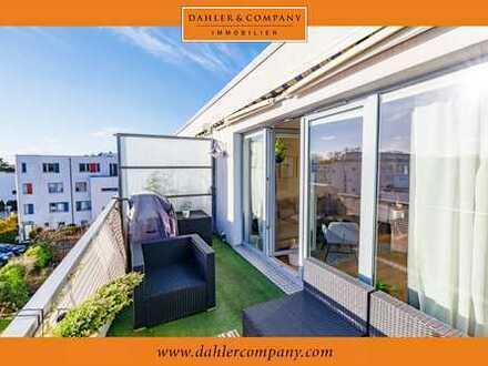 Luxuriöse Dachgeschoss Maisonette am Heidberg-Quartier in Langenhorn!