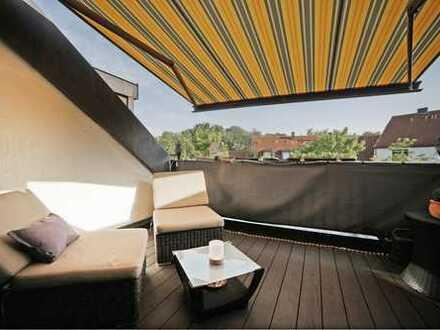 Fantastische 3 Zimmer Dachterrassenwohnung in herrlicher Lage