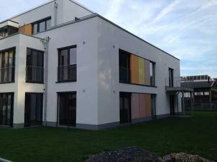 Schönes Apartment in Gartenausrichtung, TG-Stellplatz, nahe Zentrum/Rhein