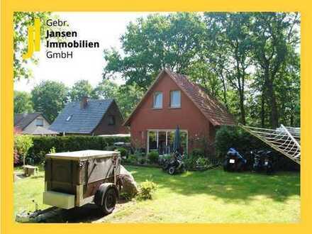 Fest-Vermietetes Ferienhaus auf schönem Grundstück in Lorup!