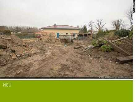 Unbebautes und geräumtes Hammergrundstück für Einfamilienhausbebauung