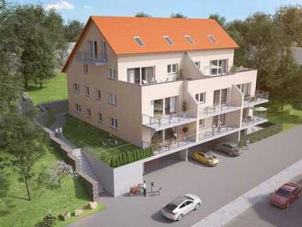 Hell und lichtdurchflutet! 3,5-Zimmer-Neubau Penthousewohnung mit atemberaubender Dachterrasse