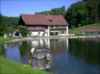 Fischzuchtanlage im Allgäu, einzigartig idyllisch und romantisch gelegen!