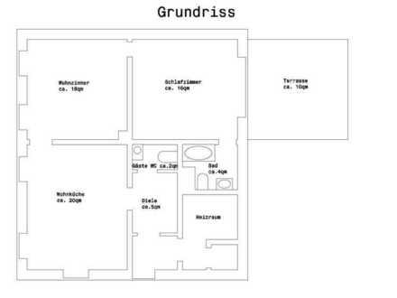 2-Zimmerwohnung im zentraler Lage