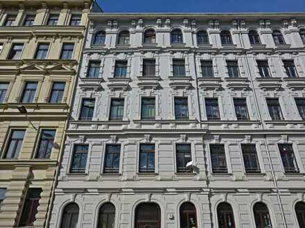 Vier Zimmer mit herrlichem Blick über Leipzig