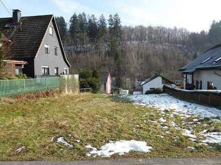 Kreativität gefragt: individuelles Wohnbaugrundstück in Freudenberg-Lindenberg