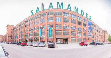 Regelmäßig verfügbar! 50 m² - 500 m² Büros auf dem Salamander-Areal in Kornwestheim!Provisionsfrei!