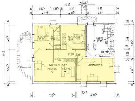 Ansprechende 3-Zimmer-Wohnung in Horgenzell