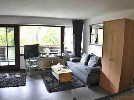 Möblierte 1-Zi.-Wohnung mit Balkon in ruhiger Waldrandlage von Neuenbürg