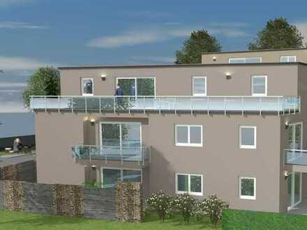 Außergewöhnlich wohnen in heller 3-Zimmer-Wohnung mit modernem Tageslichtbad und großer Dachterrasse