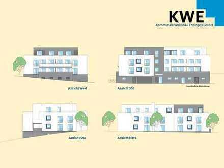 Großzügiger Wohn-/Essbereich mit Balkonzugang