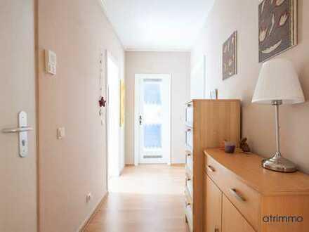Traumhaft wohnen mit Südstadt-Flair auf ca. 135 qm! 3 Zimmer auf zwei Ebenen & Balkon zum Innenhof!