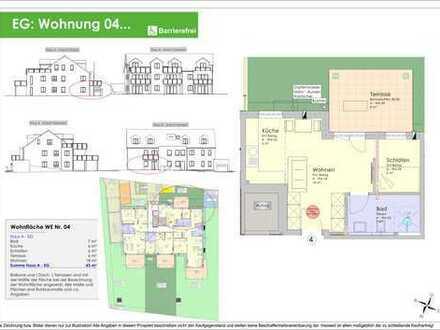 NEUBAU - 43m² 2ZKB Erdgeschosswohnung Ingolstadt/Süd - Provisionsfrei! (WE 04)