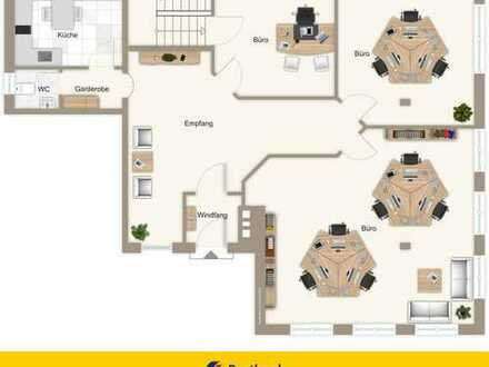 Helle, freundliche Büro bzw. Praxisräume in zentrale Lage von Hengersberg zu vermieten