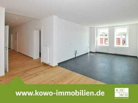Erstbezug nach Sanierung: 4-Raum-Wohnung mit Balkon in Dölitz-Dösen