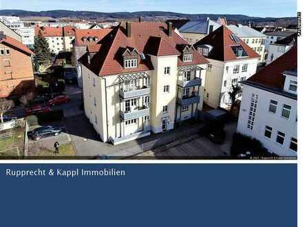 Attraktive 2-Zimmer-Eigentumswohnung mit Kamin zum Sofortbezug in Weiden Zentrum