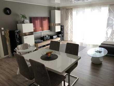 Schöne neuwertige 2-Zimmer-Wohnung teilmöbliert und mit Klimaanlage in Nußloch