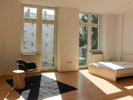 Schöne, sehr helle 1-Zimmer-Wohnung in Mannheim, Neckarstadt-Ost