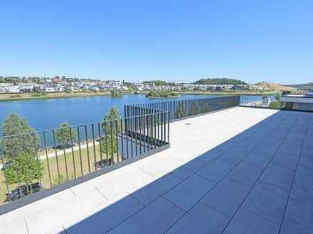 Penthouse der absoluten Spitzenklasse mit fantastischer Aussicht auf den See