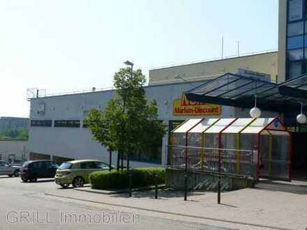 SUPERMARKT mit 741 m² Verkaufsfläche zzgl. Lager - LKW-Rampe, Kühlräumen + 60 TG-Parkpl. am Südring