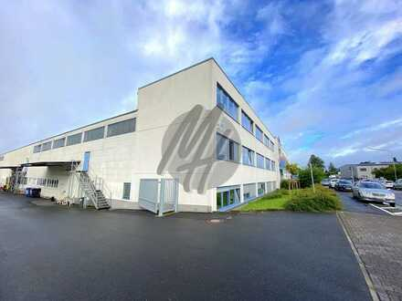 KEINE PROVISION ✓ NÄHE BAB ✓ Lager (4.500 m²) & Büro (750 m²/erweiterbar) zu vermieten