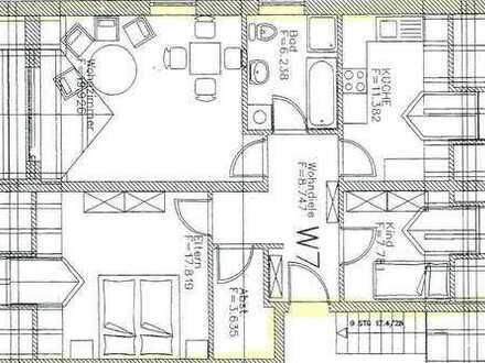 Schöne 3-Zimmer Wohnung / Zentrumsnah