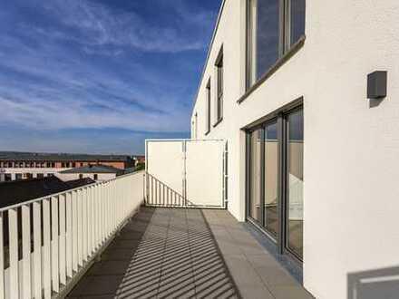Exklusive 4 Zimmer Maisonette Wohnung mit Dachterrasse & EBK & 2 Bäder!