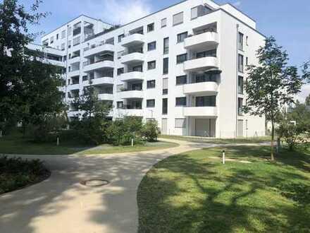 Moderne, helle 3-Zimmer-Wohnung in Toplage in Lohhof