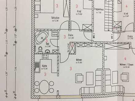 Gepflegte 3-Raum-Wohnung mitten in Illertissen