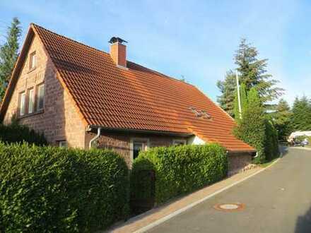 Sandsteinhaus in Traumlage im Odenwald