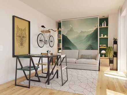 EINKEHR FÜR SMARTE STÄDTER - Moderne Cityapartment mit Loggia in idealer Lage