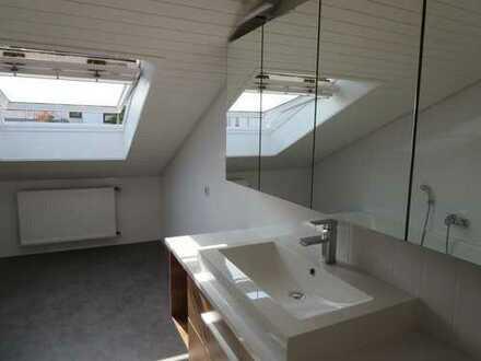 Erstbezug nach Sanierung mit Einbauküche und Balkon: exklusive 1,5-Zimmer-DG-Wohnung in Bensheim