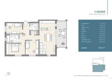 Tolle 4-Zimmer Wohnung im DG (106)