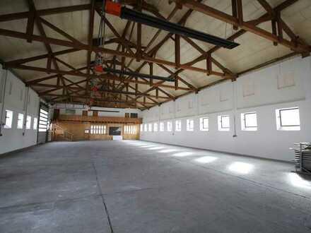 +Produktions- oder Lagerhalle mit Büro und Sozailräumen (Nähe A94, 30 min nach München)