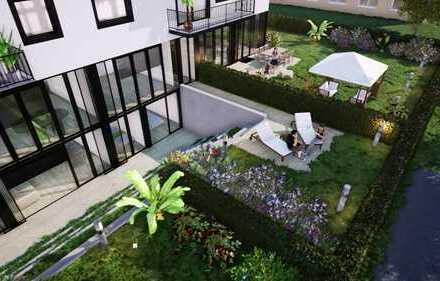 PROVISIONSFREI! Wohnung E3, ca. 120,26 qm / Erdgeschoss & Terrassengeschoss mit Garten