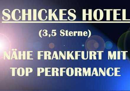 ++SCHICKES HOTEL MIT TOP PERFORMANCE IN GUTER LAGE CA. 10 KM VON FRANKFURT++