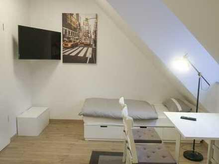 Neubau Erstbezug in Haar,1-Zimmer Apartment mit moderner Möblierung