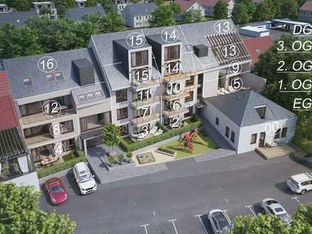 Gelungene 3-Zimmer-Wohnung mit Blick in Richtung Westen