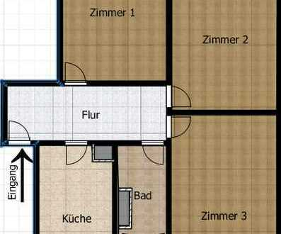 3-Zimmer-Wohnung in zentraler Lage in Karlsruhe
