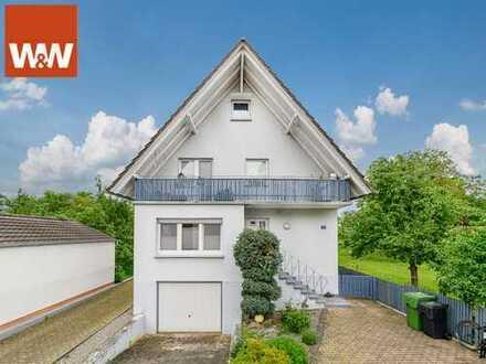 Stilvolle Maisonettewohnung in ruhiger Lage von Allmannsweier - Singletraum...