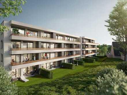 Kompakte 1,5 Zimmer Wohnung mit Terrasse und Gartenanteil