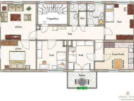 Sanierte 5- Zi. Wohnung mit Balkon und Stellplatz in perfekter Lage zum Bahnhof - Bieterverfahren