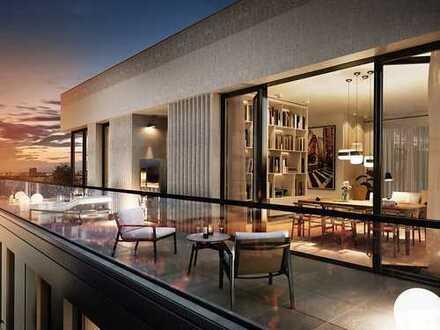 Mehr geht nicht! Exklusives 3-Zimmer-Penthouse mit 2 modernen Tageslichtbädern und 3 Dachterrassen